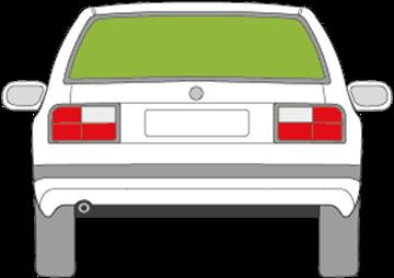 Afbeelding van Achterruit Volvo 460