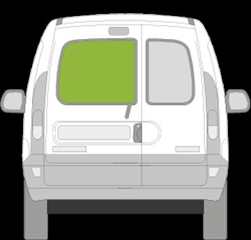 Afbeelding van Achterruit links Renault Kangoo